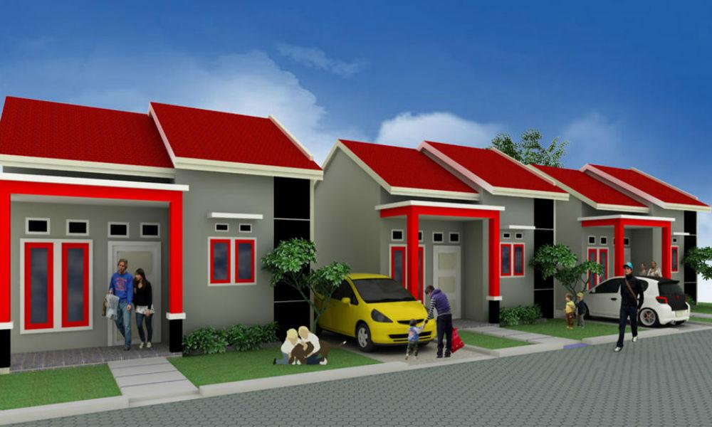 contoh perumahan minimalis