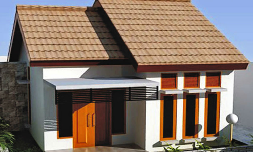 contoh rumah tipe 21