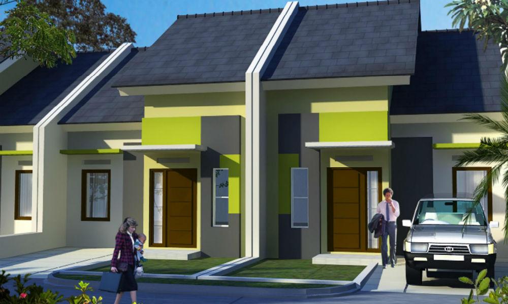 contoh rumah tipe 36