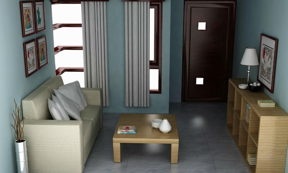 interior rumah tipe 36