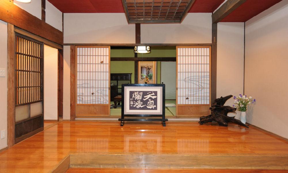 lantai kayu ala jepang