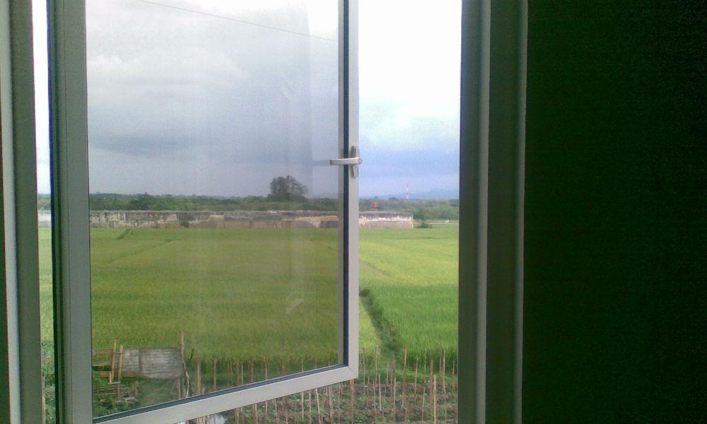 pemandangan jendela
