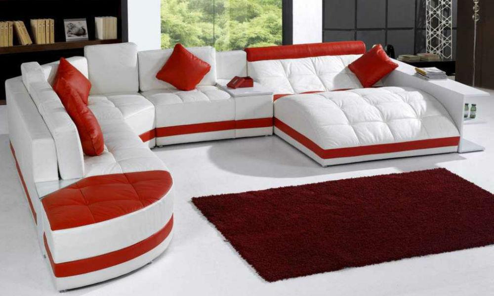 ruang tamu merah putih